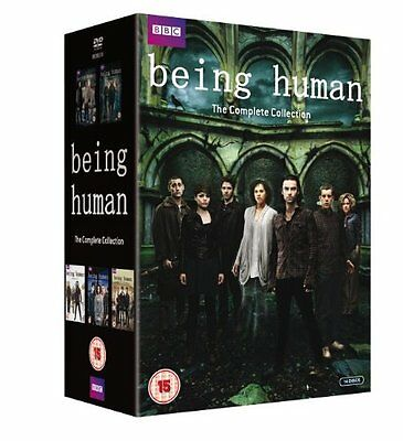 """Being Human Complete Bbc Series Collection 1-5 Dvd Box Set 14 Discs """"new&sealed"""""""