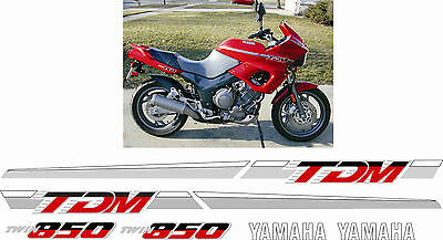 Yamaha TDM 850 1992 full replacement Decals Stickers Graphics