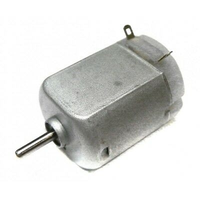 Flat 3v Dc Miniature Model Electric Motor 2mm Shaft 1 5 4