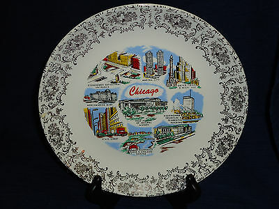 """CHICAGO Vintage 9.25"""" collector's plate"""