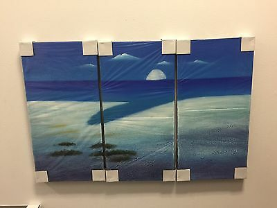 Wall Art Hand Painted Canvas Oil Painting Home Decor Decals #14 With Frame