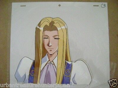 The Vision Of Escaflowne Allen Schezar Anime Production Cel 9