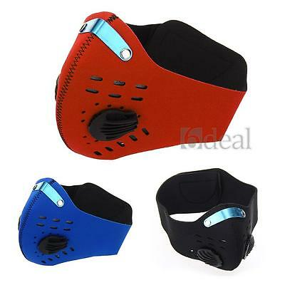 Bicycle Bike Cycling MTB Anti-dust Half Face Mask Filter Outdoor Sports