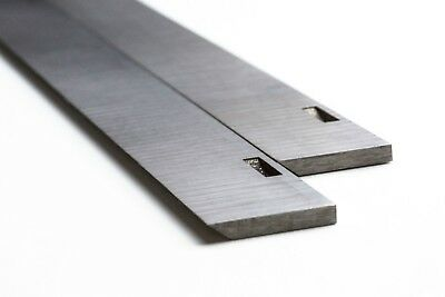 260 x 21 x 3mm HSS Planer Blades SLOTTED for ELU/Dewalt S704S4
