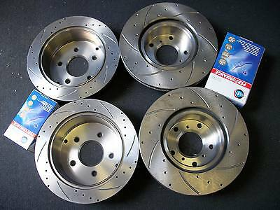 Full Set Holden Statesman WH WK WL DRILLED & SLOTTED Disc Rotors + Brake Pads