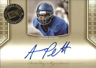 2011 (FB) Press Pass Legends Saturday Signatures #SSAD Andy Dalton