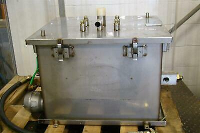 Stainless Hydraulic Tank & Heat Exchanger