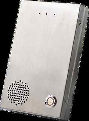 SIP door entry system - POE - Sip/IAX2 door phone steel - 1 Relay - Waterproof