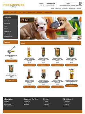 Professional Drop Shipping Ecommerce Pet Shop Website With Free Installation