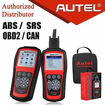 For ABS Airbag SRS Autel Autolink AL619 OBD2 CAN Diagnostic Scanner Code Reader