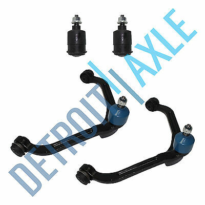 Both (2) Front Upper Control Arms & Ball Joints + 2 Lower Ball Joints Jeep