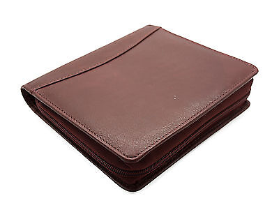 Fountain Pen Case 12 Leather New Antique Brown