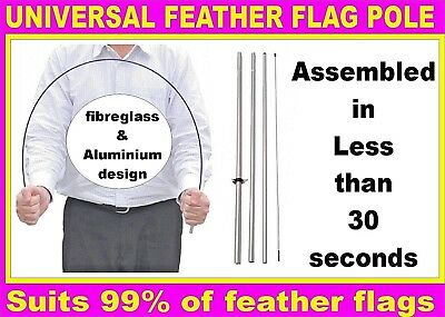 feather flag pole kit flagpole kit suits feather flags Bali flags Universal