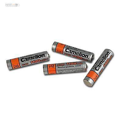 4er Set Akku AAA Micro 1100mAh Camelion NiMH rechargeable Accu schnellladefähig