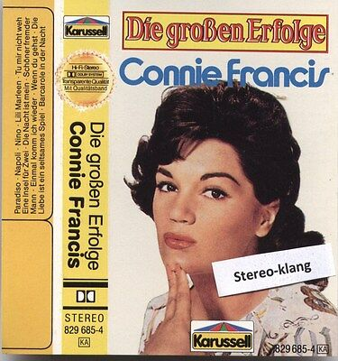 Connie Francis-Die Grossen Erfolge-Mc-Musikkassette-Karussell West Germany