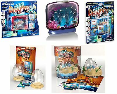 Aqua Dragons Jurassic Underwater Pets Watch Them Grow CHOOSE YOUR KIT NOW