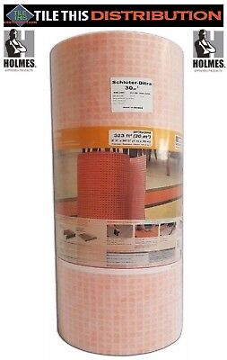 Schluter Ditra Membrane Tile underlayment 10 to 323 sq ft Rolls ~You Pick Size~