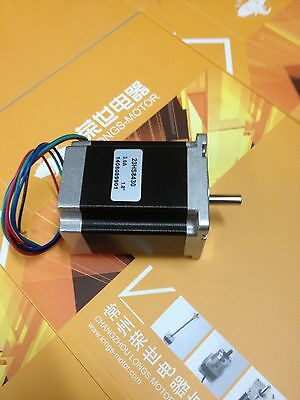 Nema23 1.9Nm 1.8° 76mm 4wires stepper motor 3.0A 23HS7430 CNC Mill Cut Longs