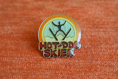 11677 Pin's Pins Ski Hot Dog Skier Bosses Jump