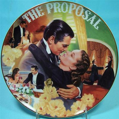 Gone With The Wind The Proposal Musical Collector's Plate