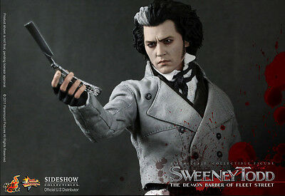 Hot Toys 1/6th scale Sweeney Todd Collectible Figure >> IN STOCK <<