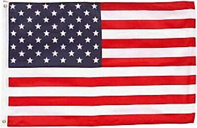 Large 3' x 5' High Quality 100% Polyester United States Flag - Free Shipping