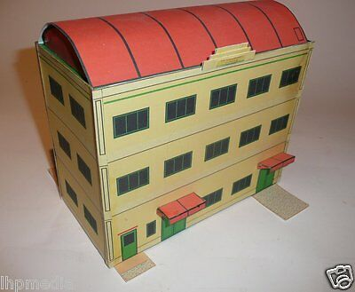 Card Office Building Kit Art Deco Style Used On Our Hornby Dublo Layout Last Few