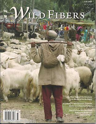 WILD FIBERS magazine fall 2007: indigo, possums