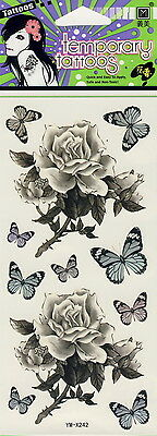 Fashion Removable Waterproof Temporary Tattoo Body Art Stickers  BUTTERFLIES 5