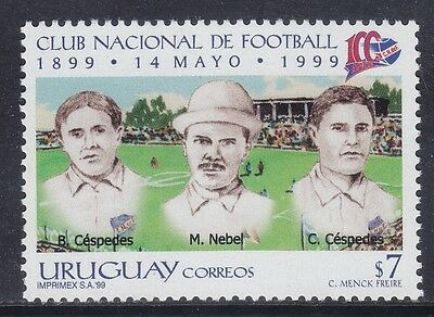 Uruguay 1999 - Centenario National Football Club - P. 7 - Mnh (1)