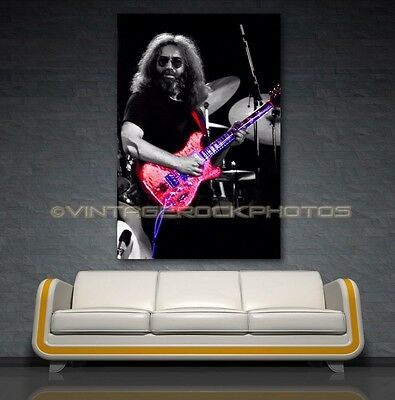 Jerry Garcia Grateful Dead 20x30 Art Gallery Canvas Print Framed Ltd Ed Design 5
