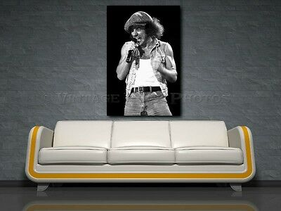 Brian Johnson AC/DC 20X30 in Fine Art Gallery Canvas Print Photo Framed Gilcee 1