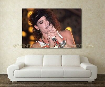 Stephen Pearcy RATT 20x30 inch Fine Art Gallery Canvas Print Framed Gilcee C3