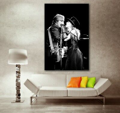 Stevie Nicks Tom Petty 20x30 in Art Gallery Canvas Print Framed Gilcee Photo 6