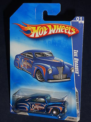 Hot Wheels 2009 Modified Rides  #157  Tail Dragger  Blue