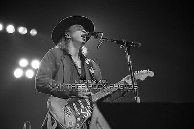Stevie Ray Vaughan 20x30 inch Poster Size Photo Live '80s Concert Pro Print   L7