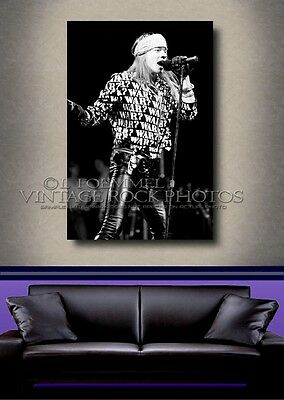 Axl Rose, GNR 20x30 in Poster Size Photo Live Concert Exclusive Studio Print L41