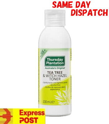 Thursday Plantation Tea Tree & Witch Hazel Toner 100ml Aloe Vera Lavender