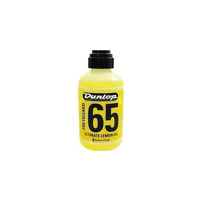 Jim Dunlop 65 Fretboard Ultimate Lemon Oil 4oz Bottle for Rosewood Fingerboards