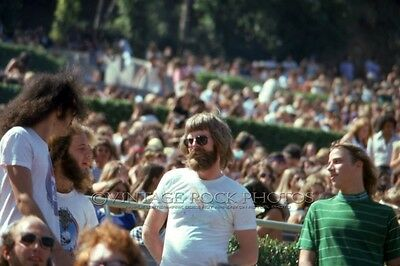Phil Lesh, Grateful Dead Photo 8x12 or 8x10 in '74 Hollywood Bowl Backstage