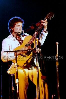 Bob Dylan Photo 8x12 or 8x10 inch Live Concert Pro Print from 35mm Negative 4