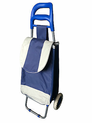 LIGHTWEIGHT LARGE HIGH QUALITY DURABLE SHOPPING TROLLEY BAG with WHEELS