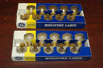 GE, Miniature Lamps, 93, Lot of 20 Bulbs, NEW