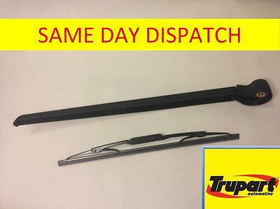 Audi Q7 Mk1 (& Facelift) 2006-2015 Rear Screen Wiper Arm + Blade Trupart Tra101