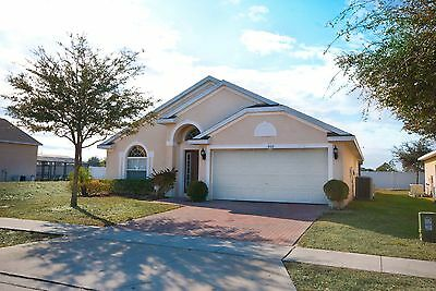 806 Orlando vacation villas for rent 3 bed pool Spa in gated community 5 nights