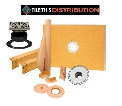 SCHLUTER KERDI SHOWER KIT   (ALL 6 SIZES)  BEST PRICE and FAST SHIPPING