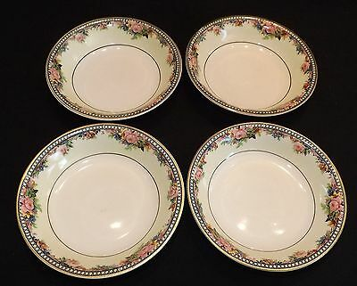 J&G Meakin England Marion 4 Berry Bowls