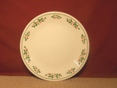 Corning Corelle Winter Holly Pattern Dinner Plate