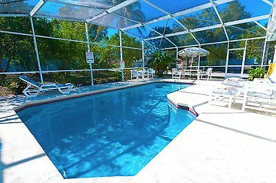 8826 Disney area vacation homes 3 bed pool villa Kissimmee 1 week special offer