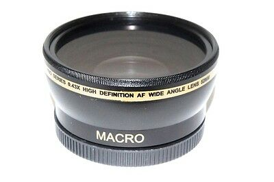 Hi Def 0.43x Wide Angle with Macro Lens for Canon Powershot G1 X